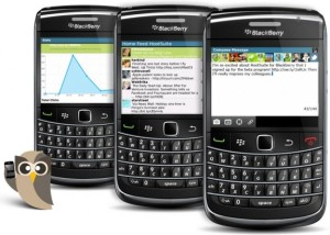 HootSuite BlackBerry